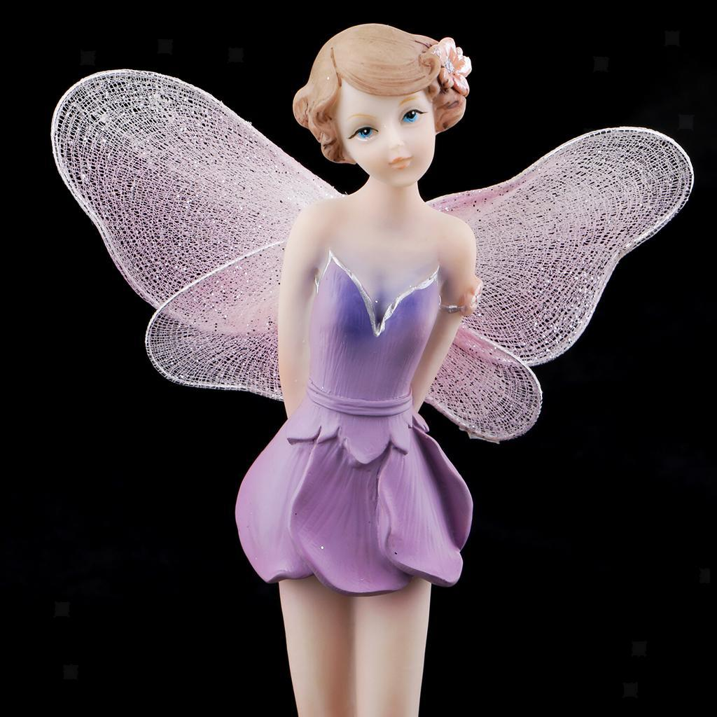 Resin Fairy Doll Figurine European Style DIY Furniture Ornament Wedding Gift