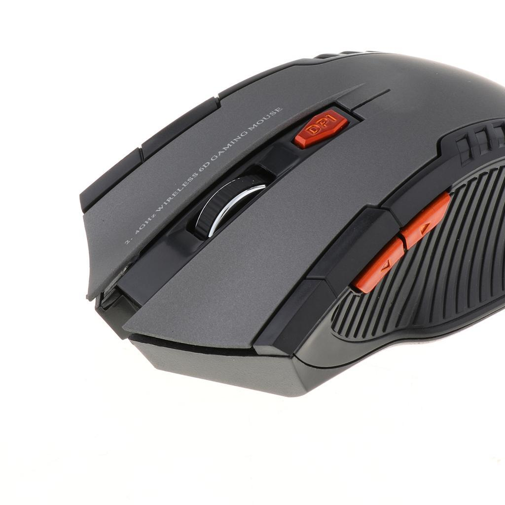 10m 2.4GHz Computer Mice Wireless USB Mouse Optical Gaming for Apple Mac