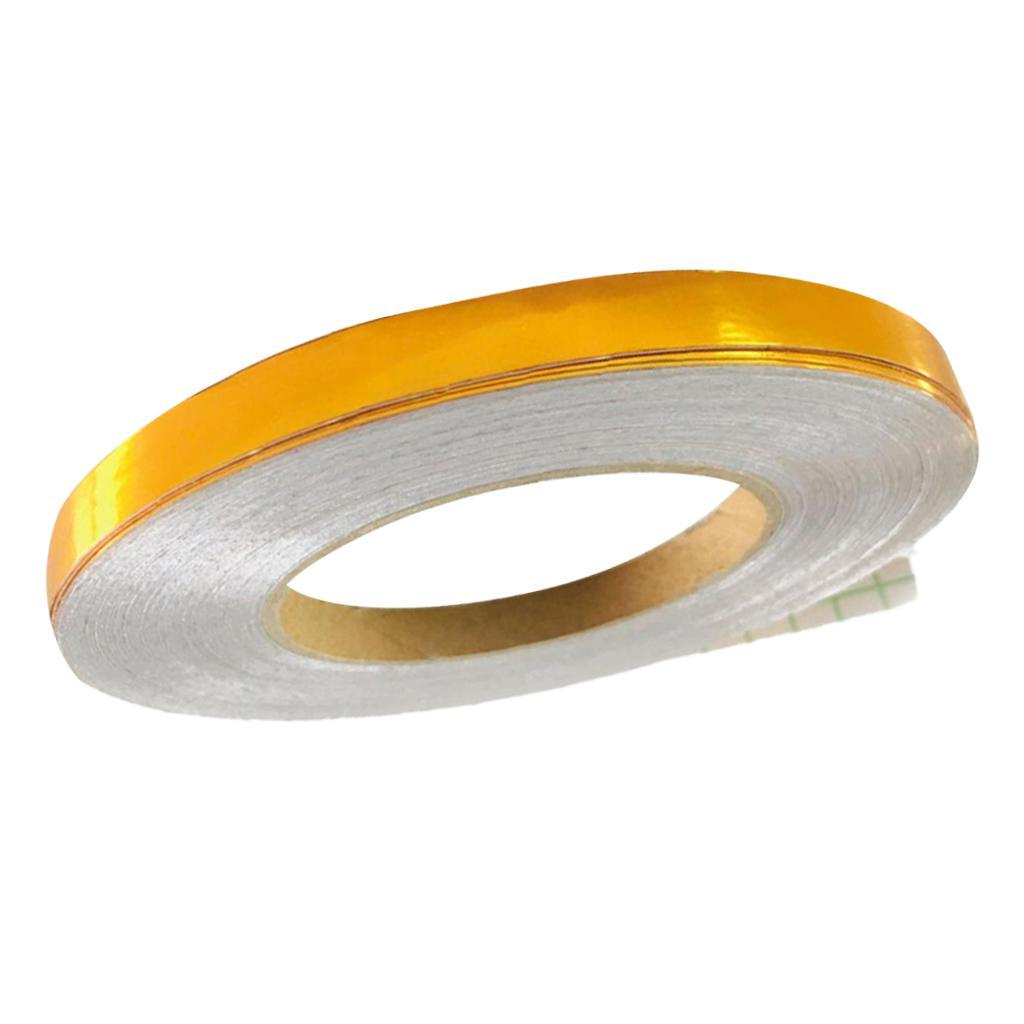 50m Tiles Furniture Decoration Tape Adhesive Tape Wall Decal Gold