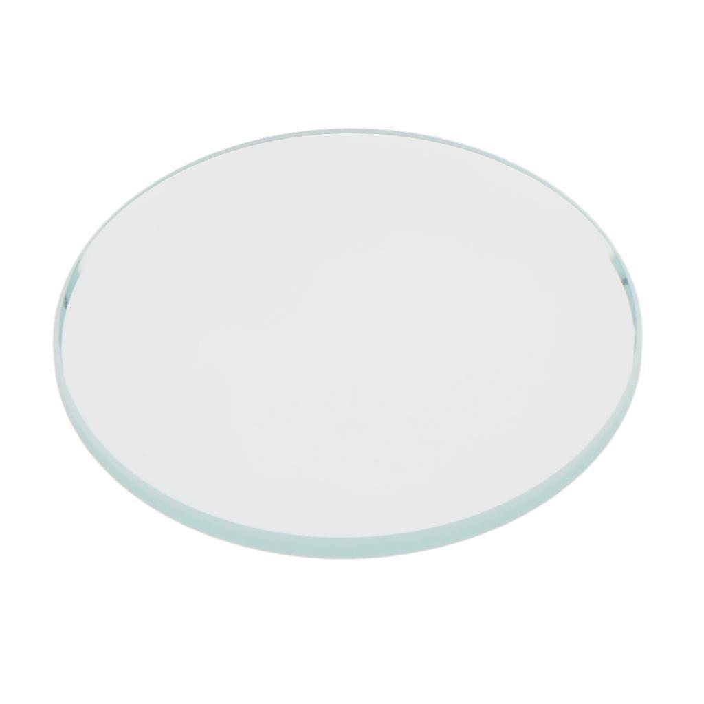 10 Pezzi Glass per Orologio DIY Strumento Vetro Minerale in Cristallo