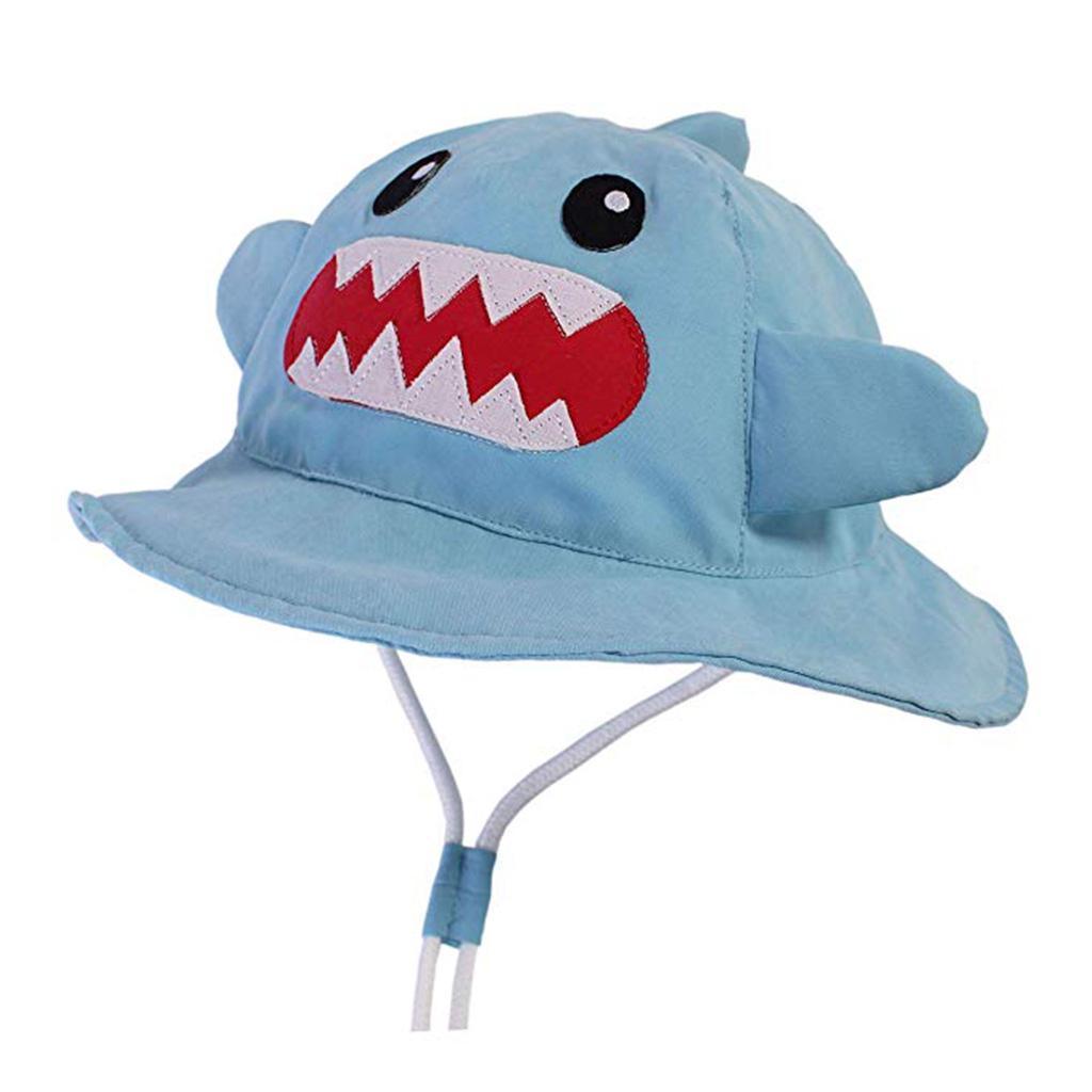 Baby Strandhut Kinder Mütze Schirmmütze UV Schutz aus 100/% Baumwolle Reisen