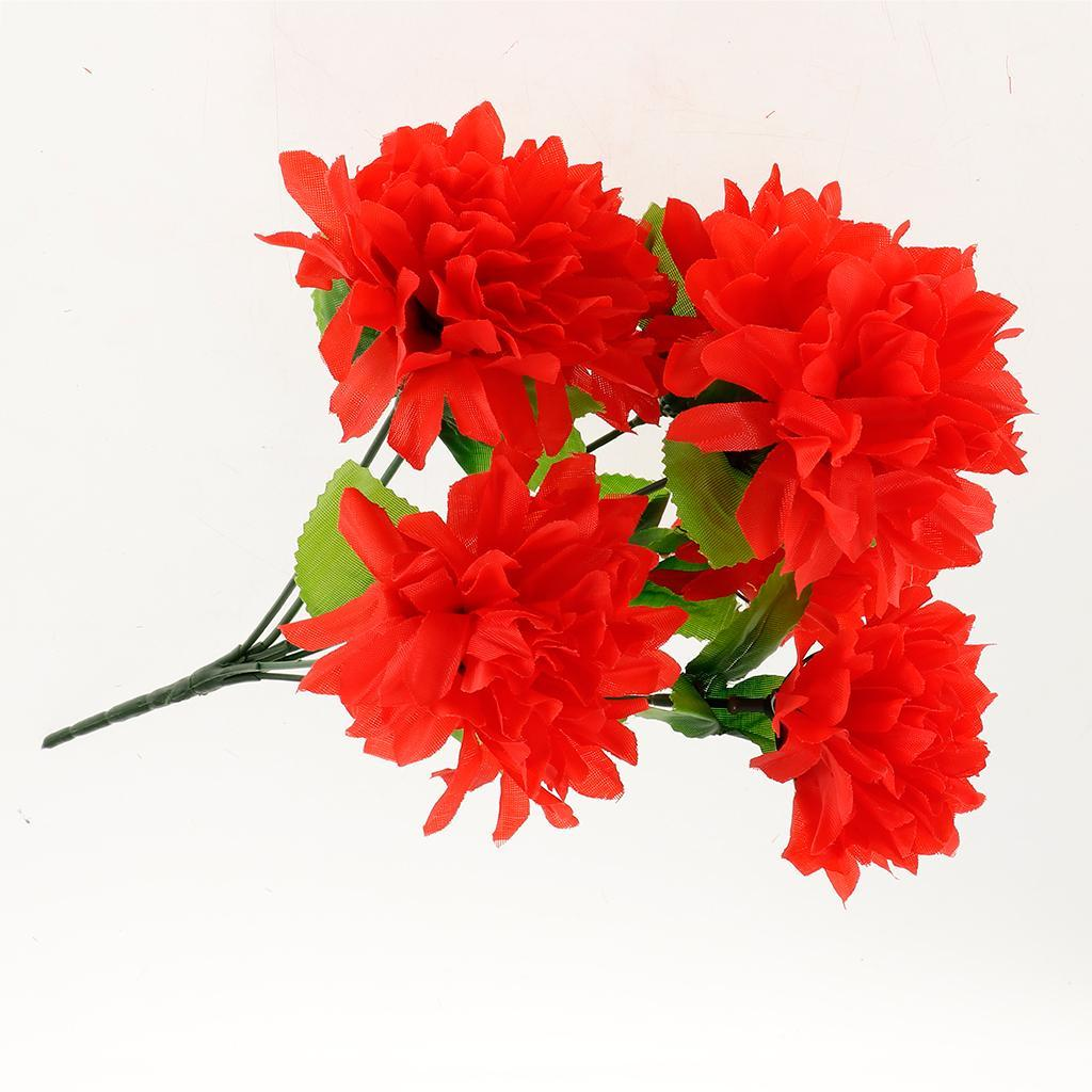 Grave Silk Flower Bouquet Arrangement Cemetery Graveside Flowers Decoration