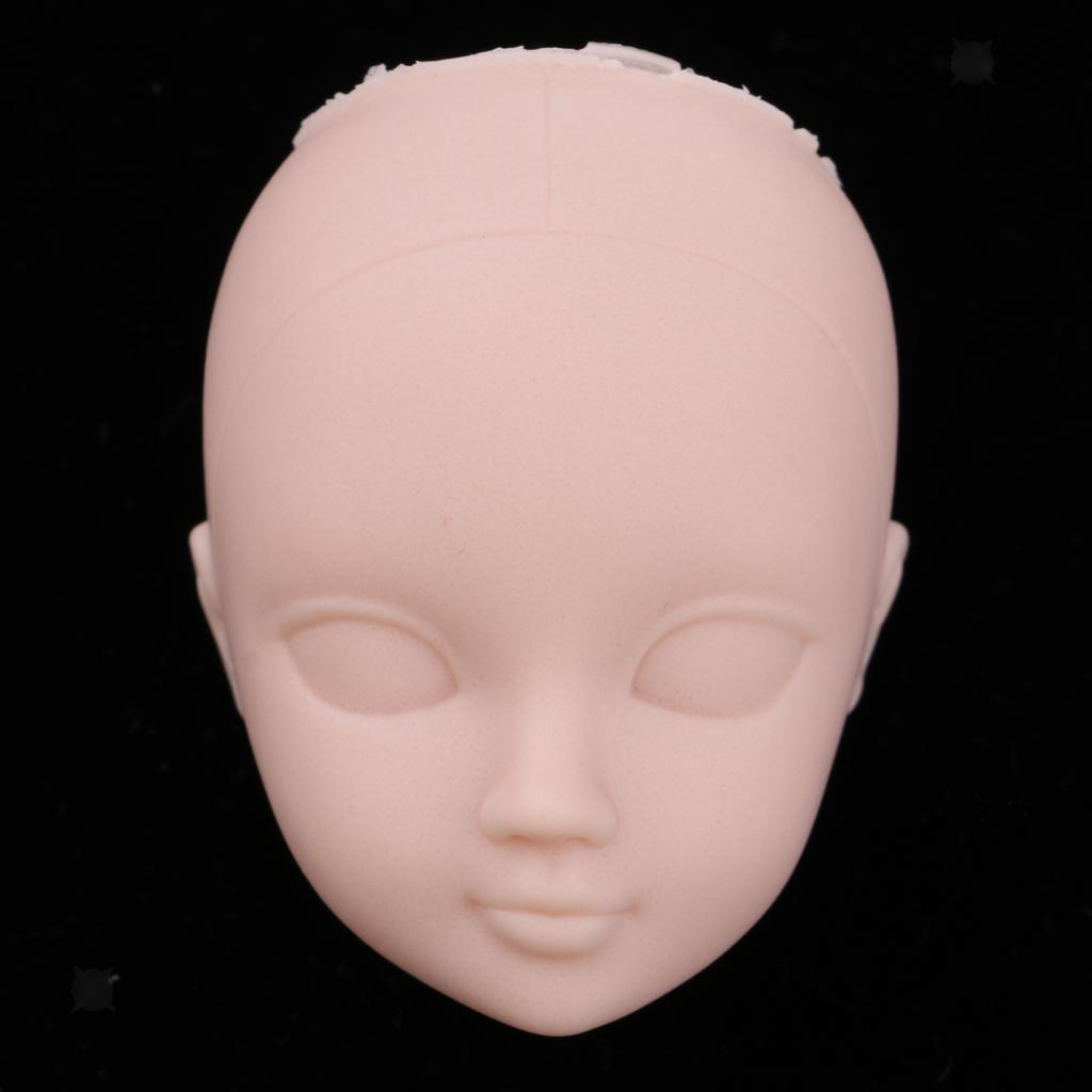 Ball-Jointed Doll Girl Head for 1:6 BJD Doll Body Parts DIY High Quality