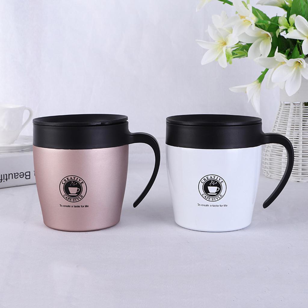 Tazza Tazza Termica Da Viaggio Per Caffè In Acciaio Inossidabile Isolato