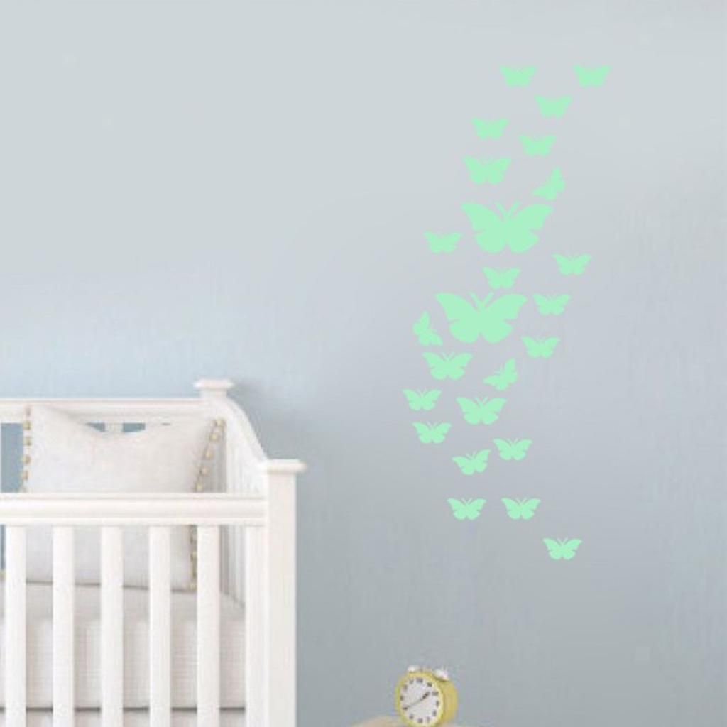 Glow In The Dark Plastic Ceiling Wall Art Fun Sticker Luminous Wall Stickers