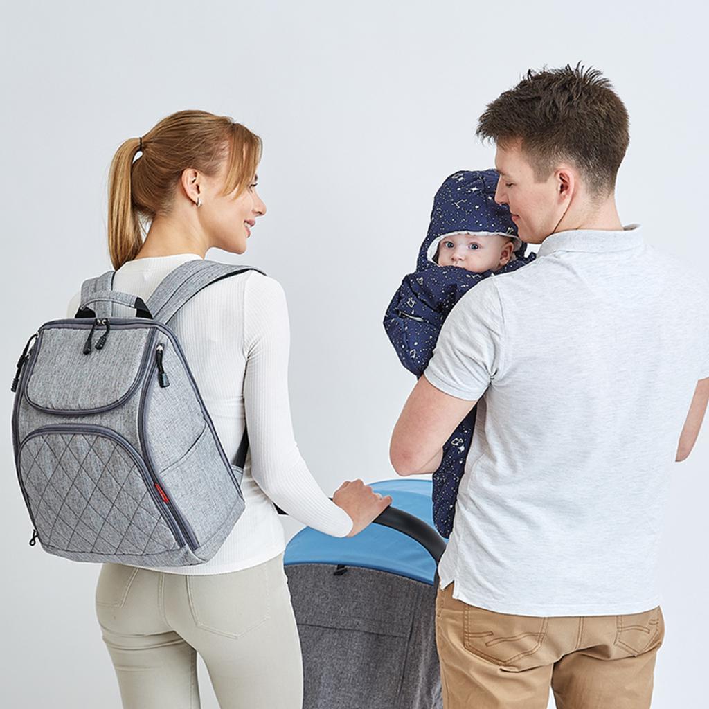Multi-functional Mummy Backpack Baby Diaper Changing Handbag Large Capacity Bag
