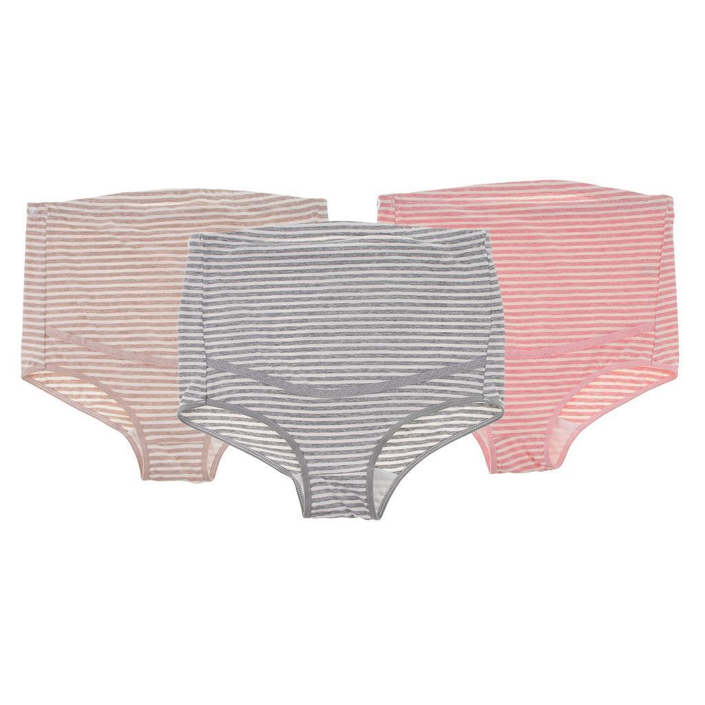 3 Pcs Maternity Panties Pregnancy Clothes Women Underwear High Waist Briefs