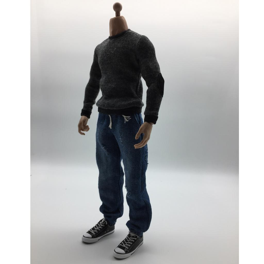 1//6 Scale Men/'s Casual Outfits Clothes Suit Fit For 12/'/' Male Action Figure Body