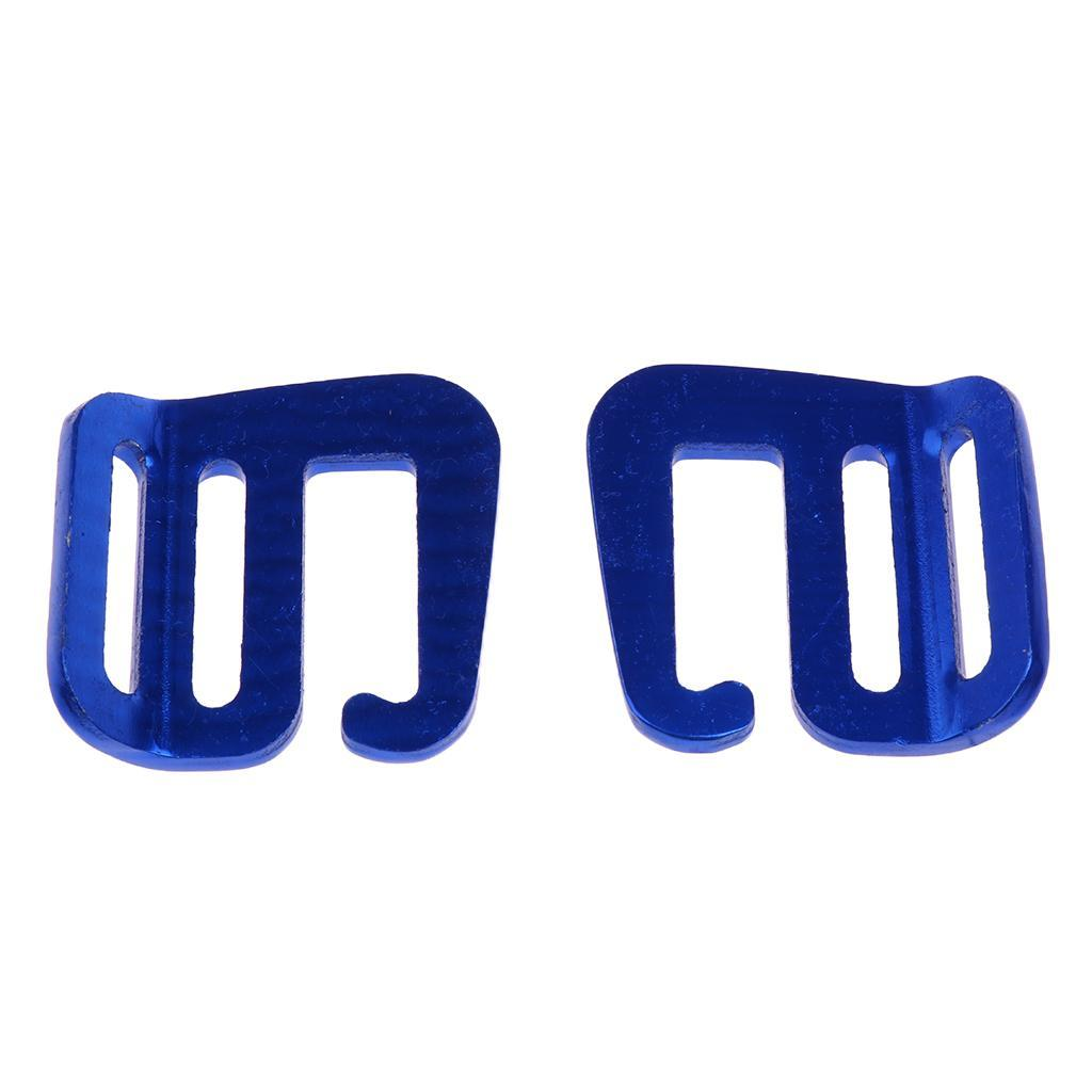 Fit for Backpack Strap 25mm 8Pcs 1 inch G Hooks Outdoor Webbing Buckles