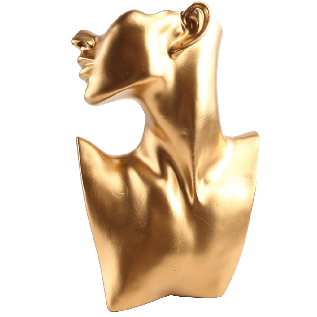 Female Fashion Jewelry Headless Mannequin Bust Display Resin Material