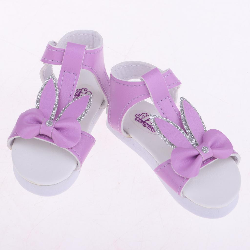 Fashion 1//3 BJD Super Doll Casual Shoes Ankle Belt Sandals For Dollfie Girls