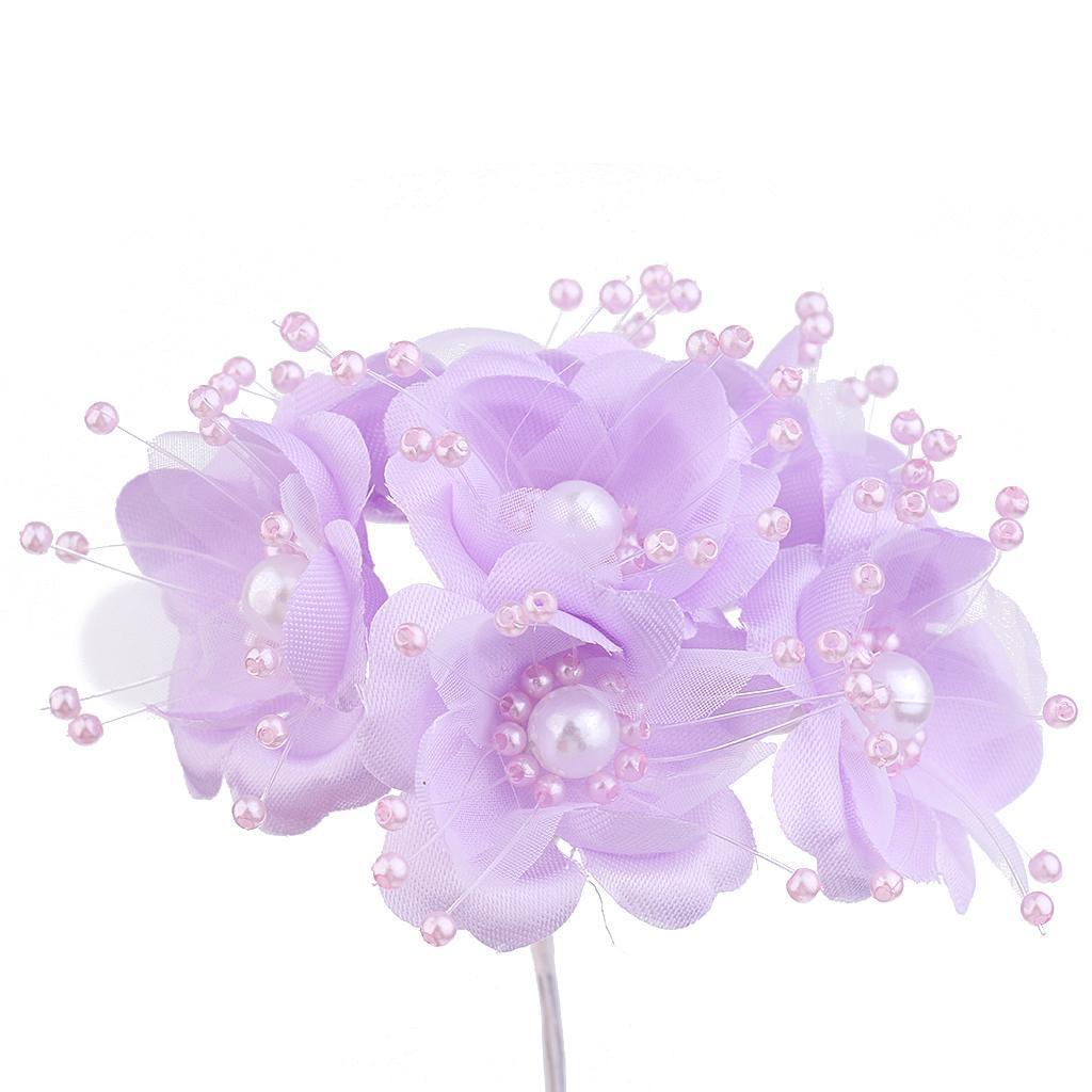 12 Köpfe Künstliche Rosen Seidenblume Hochzeit Brautstrauß Home Decor