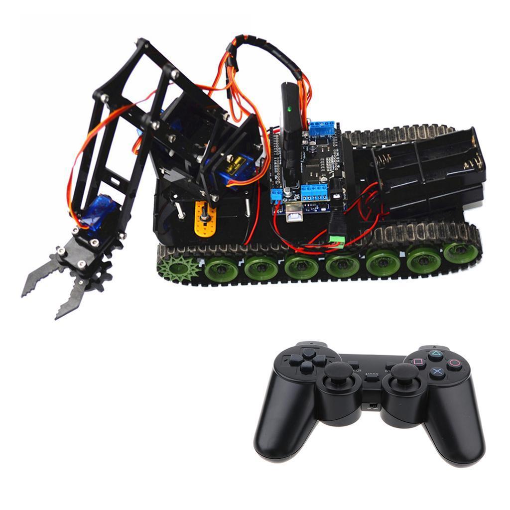 Set Meccanico Robot Kit Braccio Telecomando PS2 Studenti Accessori