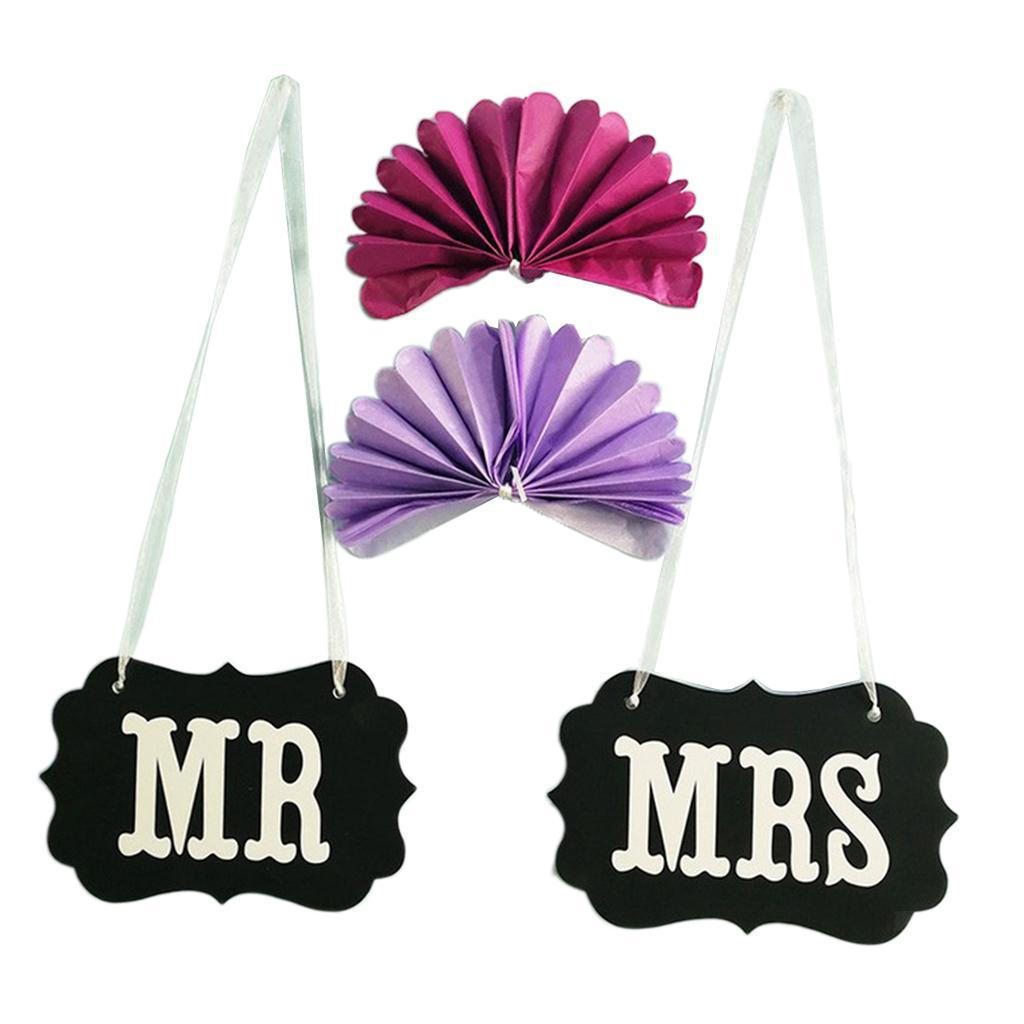 Details about  /Chair Bunting Banner Garland Wedding Photo Props Decoration GROOM /& BRIDE