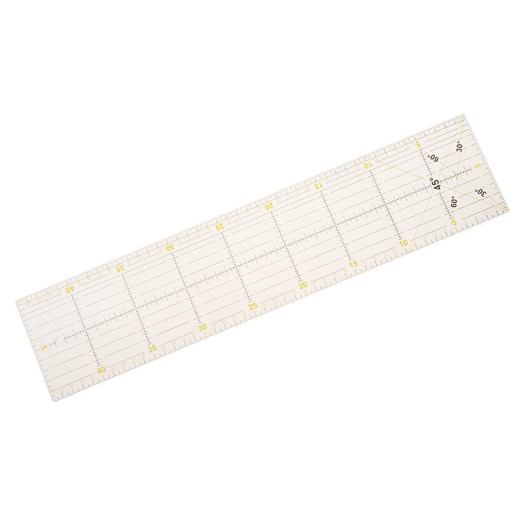 Patchwork Lineal Quilt Rollschneider Lineal Nähen Basteln aus Kunststoff