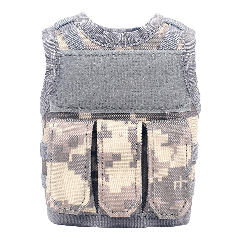 Multi-Use Mini Vest Tool Bag Beer Drink Can Sleeve Holder for Hunting Hiking