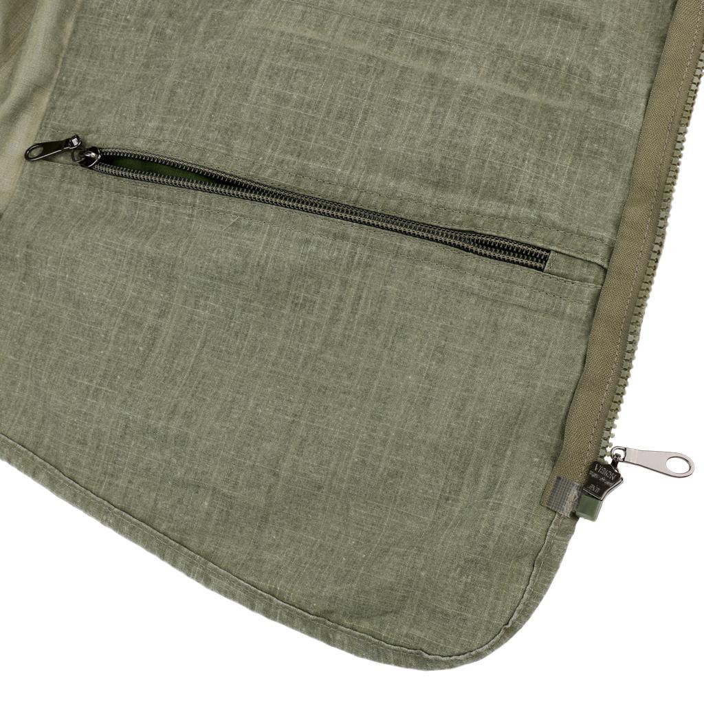 Angler Camping Unisex Outdoor Sport Ärmellos Weste mit mehrere Tasche