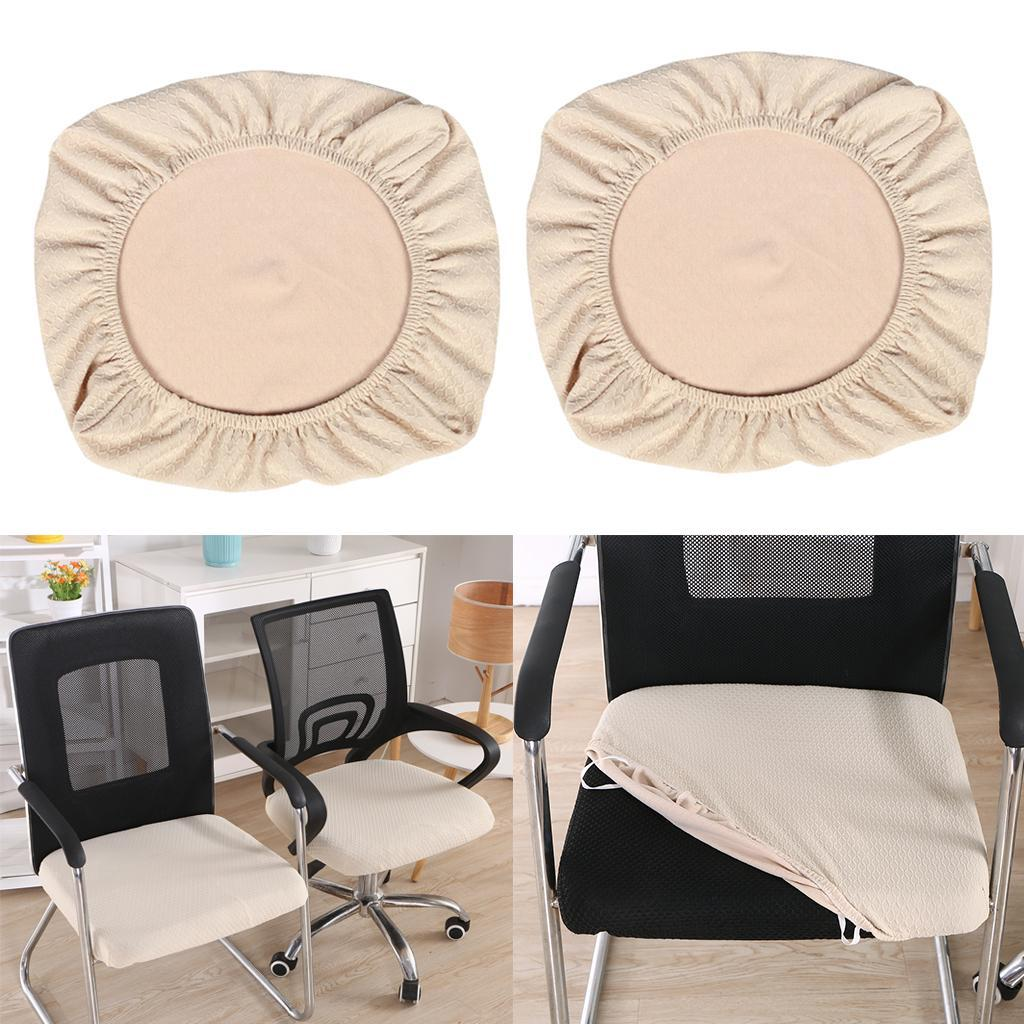 2x-Dinner-Chair-Seat-Cover-Upholstered-Kitchen-Chair-Seat-Cushion-Slipcover thumbnail 15