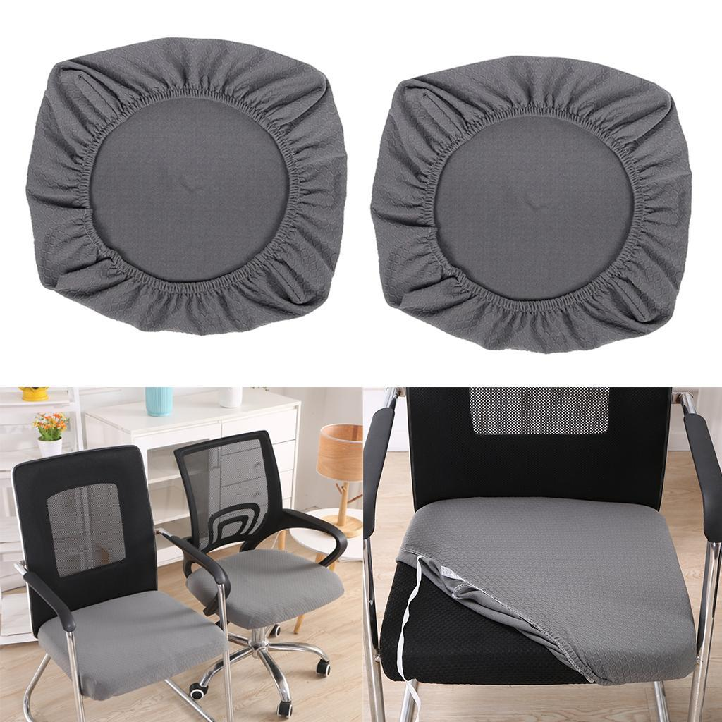 2xDining-Chair-Seat-Covers-Upholstered-Kitchen-Chair-Seat-Cushion-Slipcover thumbnail 18
