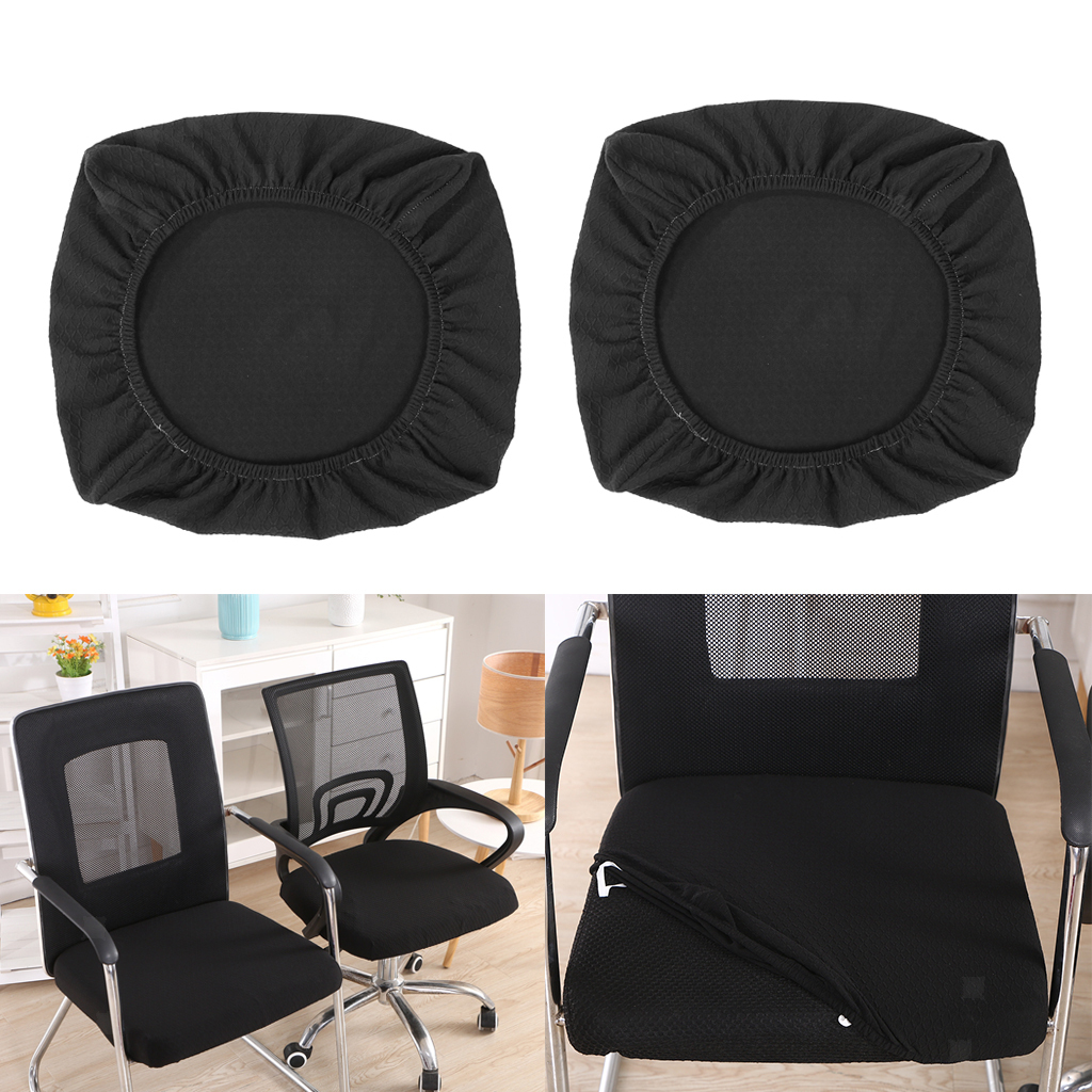 2x-Dinner-Chair-Seat-Cover-Upholstered-Kitchen-Chair-Seat-Cushion-Slipcover thumbnail 27