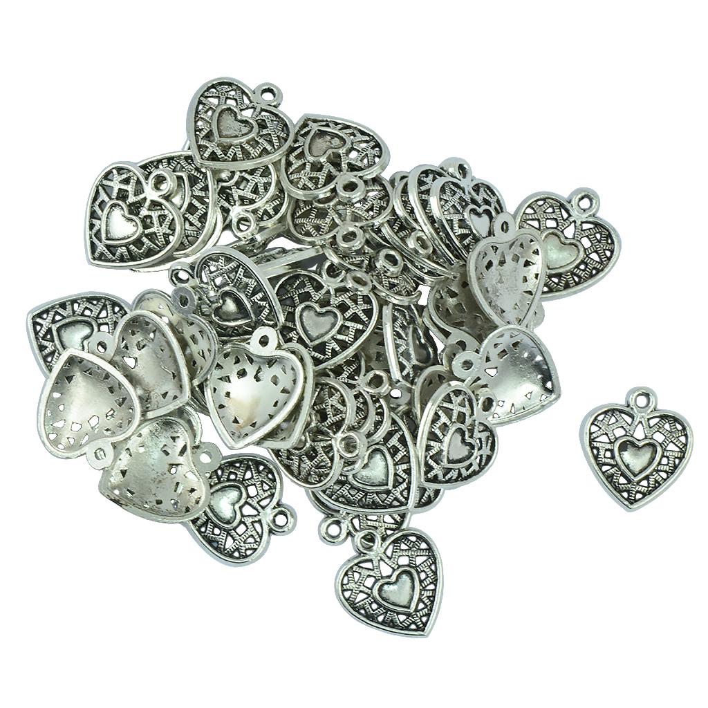 Pendentifs-Breloques-Charms-pour-Bijoux-Collier-Bracelet-DIY-Artisanat miniature 21