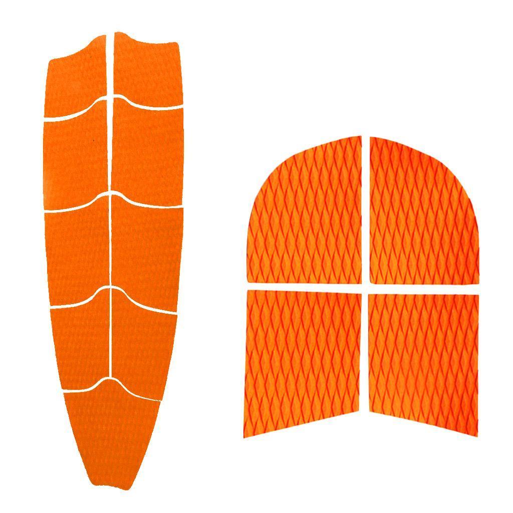 Stand up Paddleboard Tabla De Surf Alfombrilla DE AGARRE COMPLETO de 9 + 4 Cola Almohadilla de tracción de perro Pad