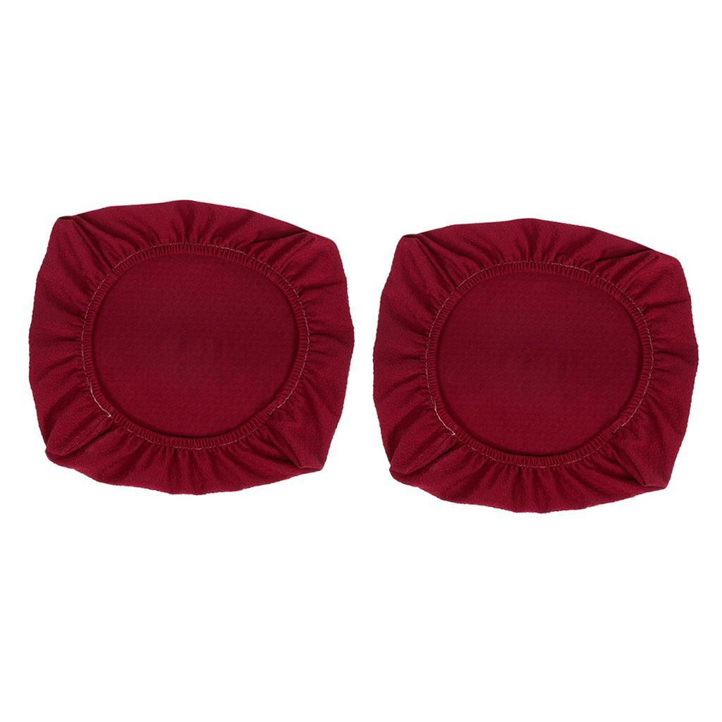 2xDining-Chair-Seat-Covers-Upholstered-Kitchen-Chair-Seat-Cushion-Slipcover thumbnail 22
