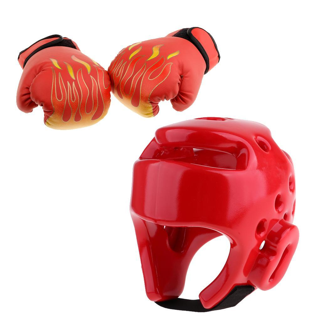 Kickboxing Taekwondo Helmet Boxing Headgear Face Protector Lightweight