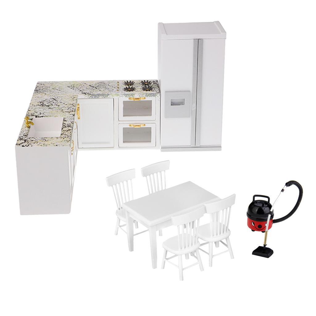 Miniature Aspirateur Plastique Mobilier pr 1//12 Maison de Poupée Dollhouse