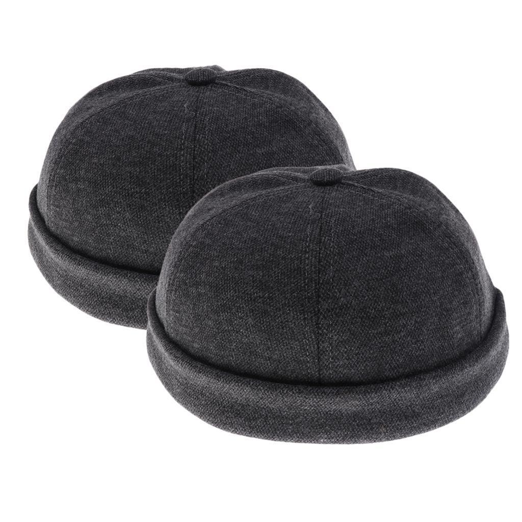 2pcs-Bonnet-Docker-en-Coton-Retro-Style-Chinois-pour-Homme miniature 25