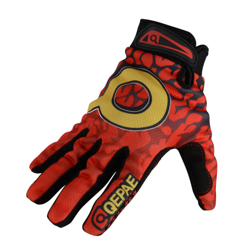 Winter-Outdoor-Sports-Cycling-Bike-Bicycle-Full-Finger-Mesh-Silicone-Gloves-M-XL miniature 4