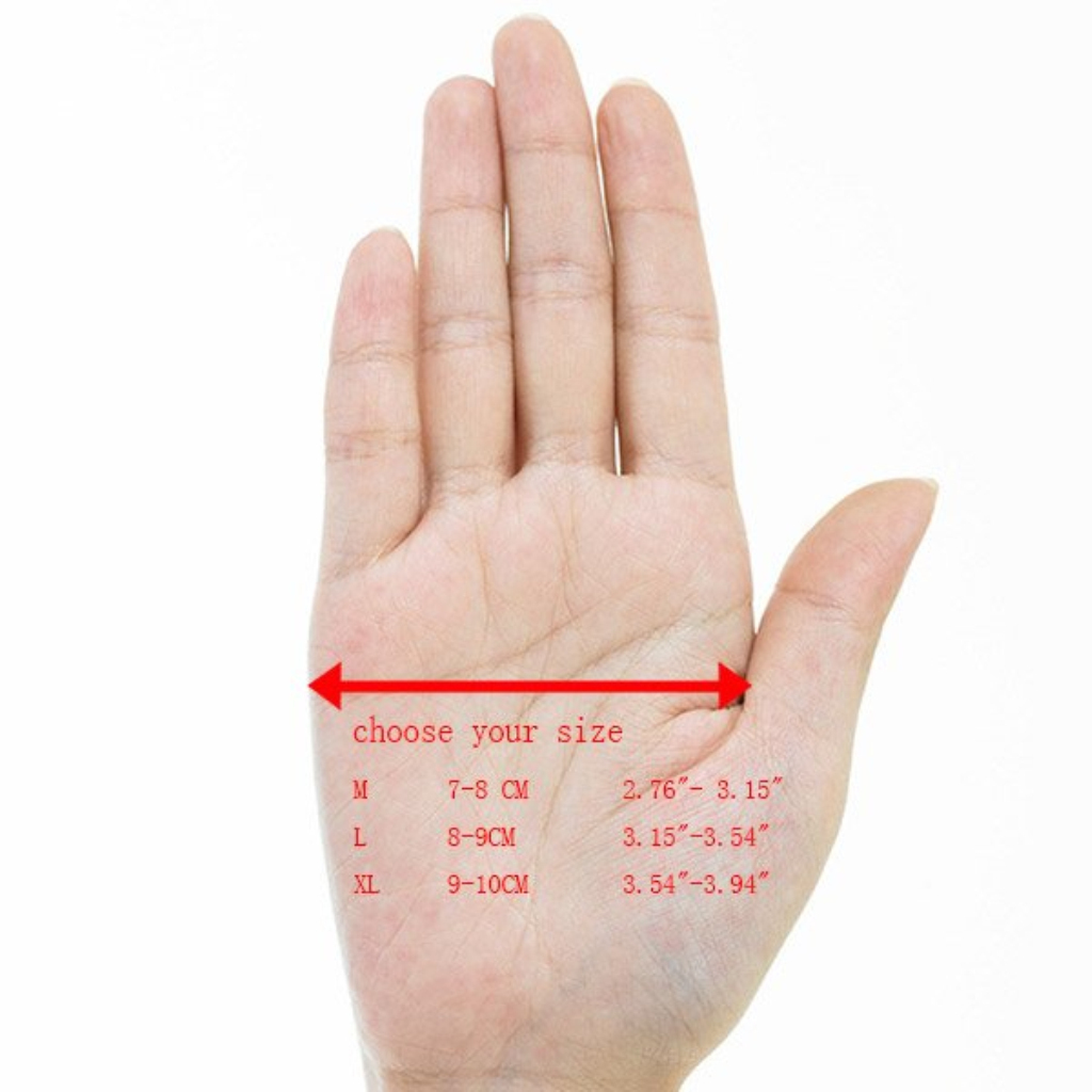 Winter-Outdoor-Sports-Cycling-Bike-Bicycle-Full-Finger-Mesh-Silicone-Gloves-M-XL miniature 7