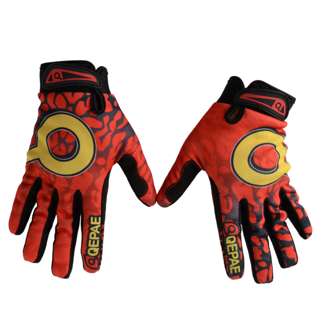 Winter-Outdoor-Sports-Cycling-Bike-Bicycle-Full-Finger-Mesh-Silicone-Gloves-M-XL miniature 3