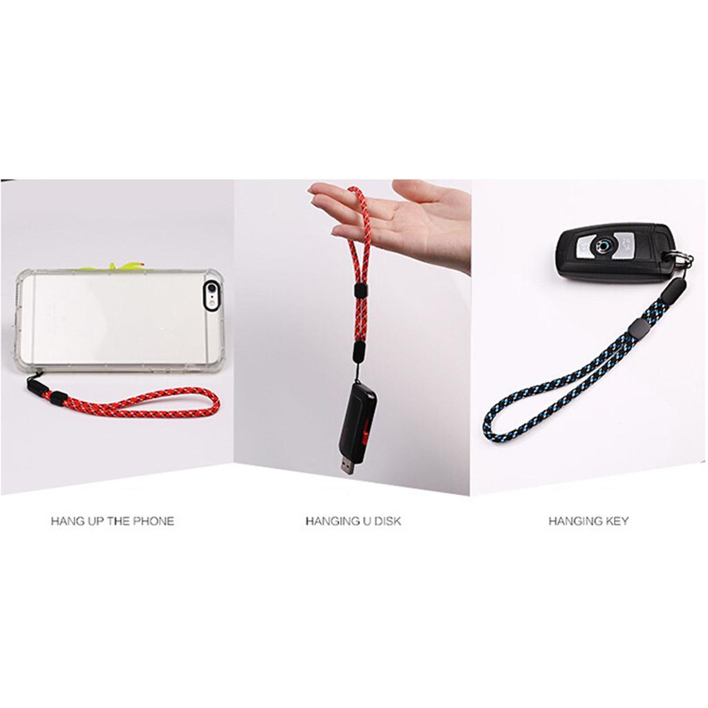 Clé de Voiture Sangle Cordon Téléphone Portable Dragonne Lanyard Mobile Décor