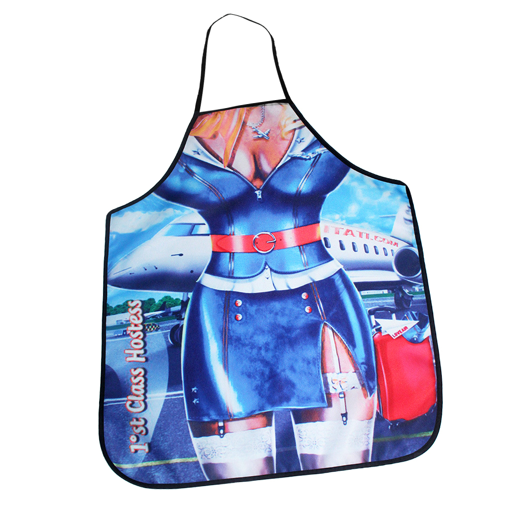 Mojoyce Funny Cooking Kitchen Apron Adult Sexy Dinner BBQ