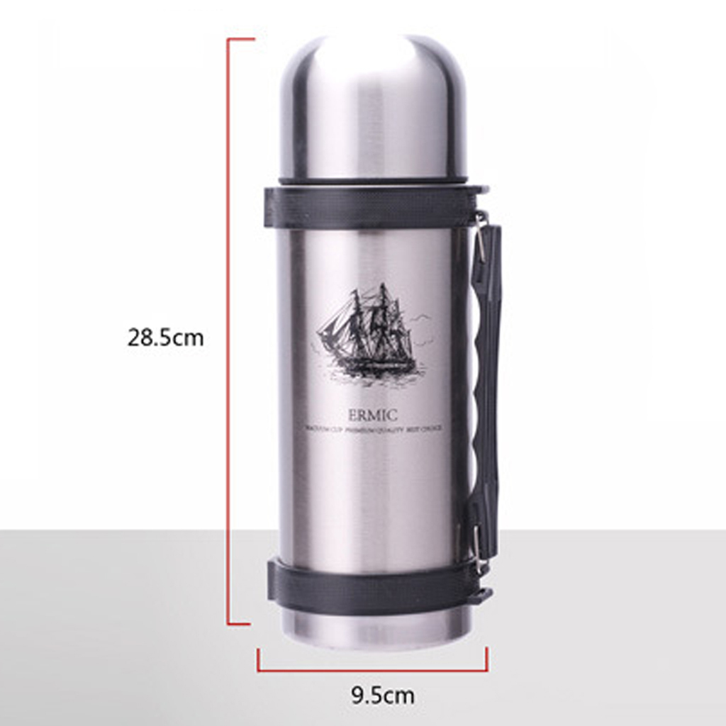 Sport-Bottle-Water-Flask-Stainless-Steel-Double-Wall-Vacuum-Insulated-Cup thumbnail 7