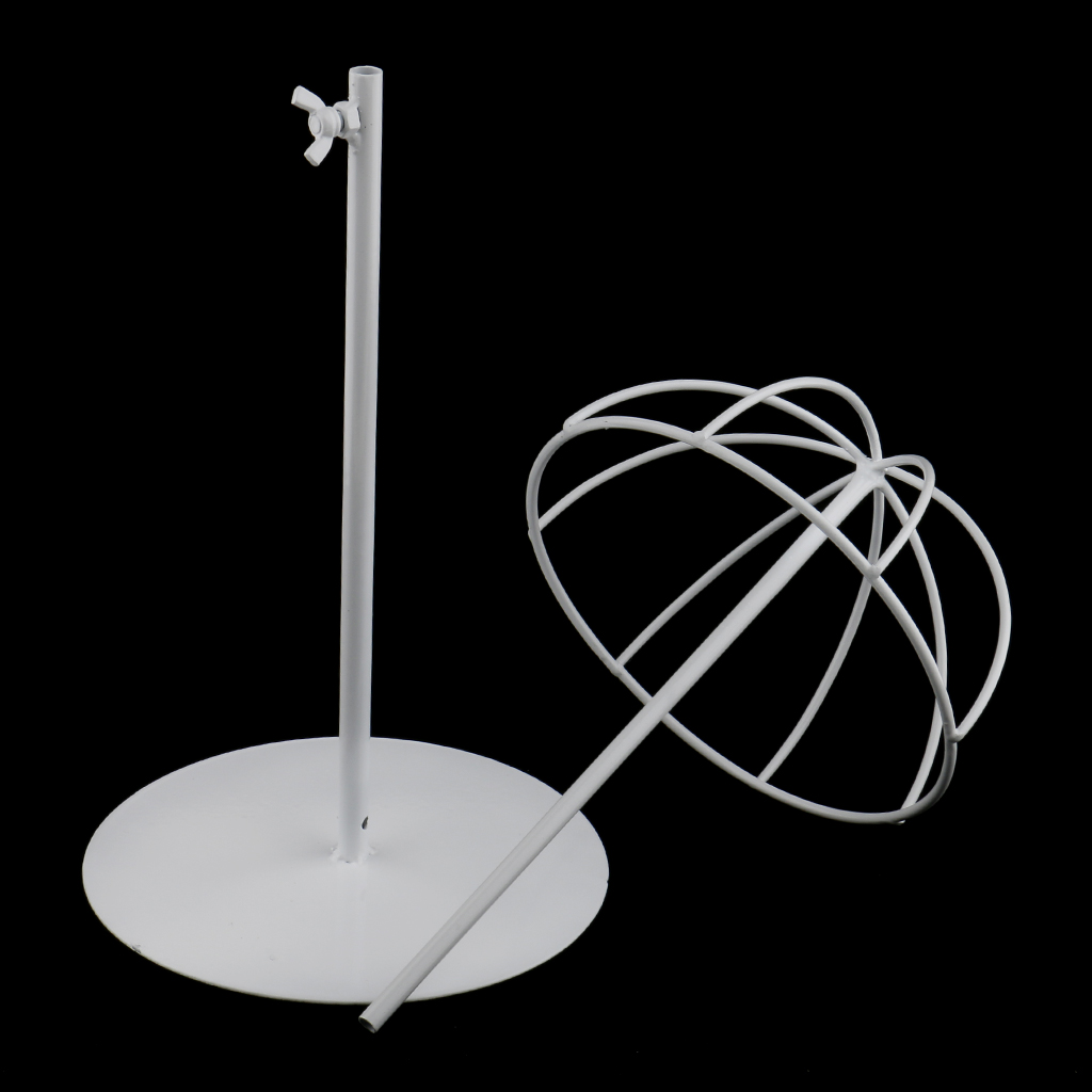 Metal Hat Cap Display Holder Stand Tool Wig Toupee Stand Rack for Man Women