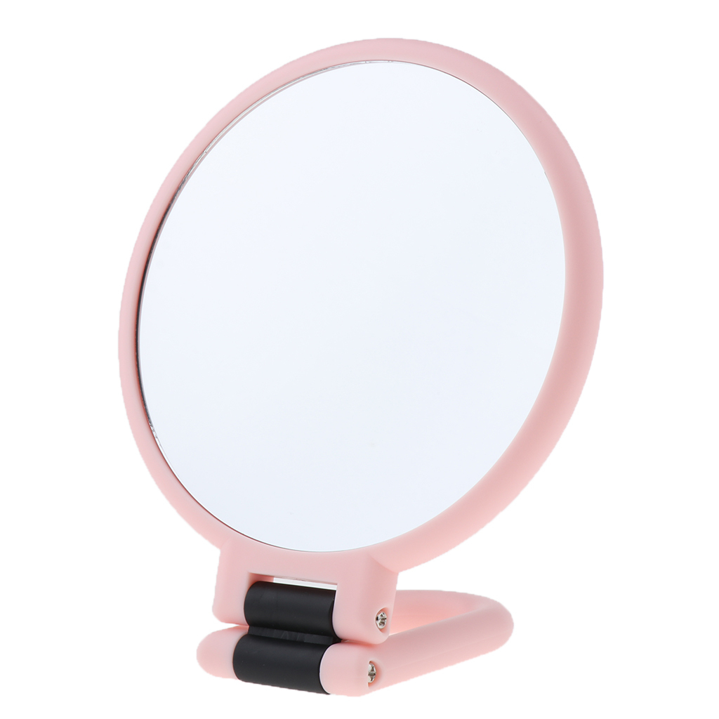2x 3x 15x Double Sided Handheld Magnifying Makeup Mirror
