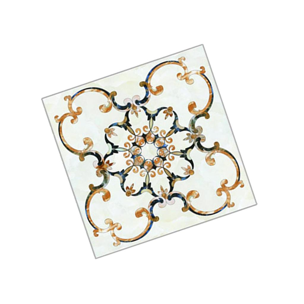 10Pcs Self-Adhesive Tile Sticker Bathroom Kitchen Transfers Transform 8x8cm