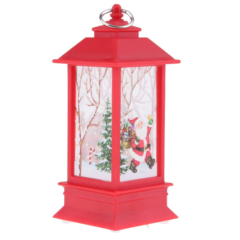 thumbnail 7 - Christmas LED Candle Lantern Xmas Lamp Decor DIY Home Party Gift Decoration
