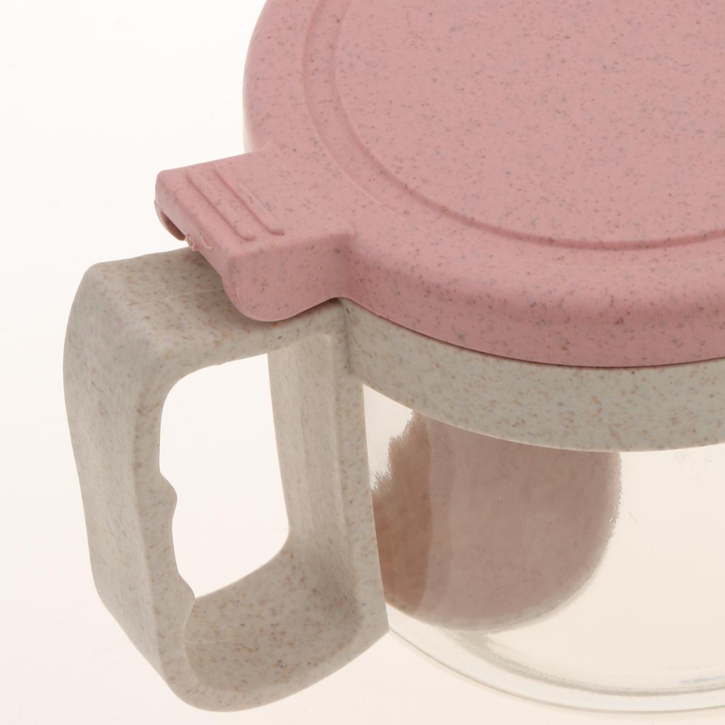 Wheat-Straw-Salt-Bowl-Condiment-Pot-Seasoning-Dispenser-Spice-Jar-with-Spoon miniature 18