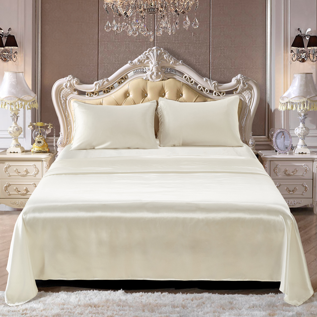 Comfort-Sheet-Set-Twin-Queen-King-Size-Bed-Flat-amp-Fitted-Sheet-amp-Pillowcases thumbnail 6