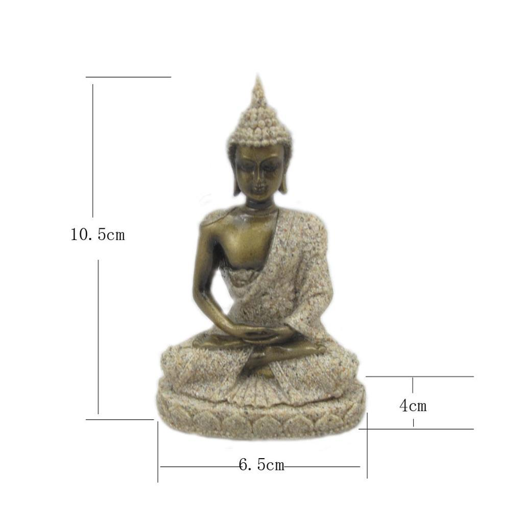Sandstone-Carving-Statue-Sculpture-Buddha-Animal-Hand-Carved-Figurine-Decor thumbnail 44
