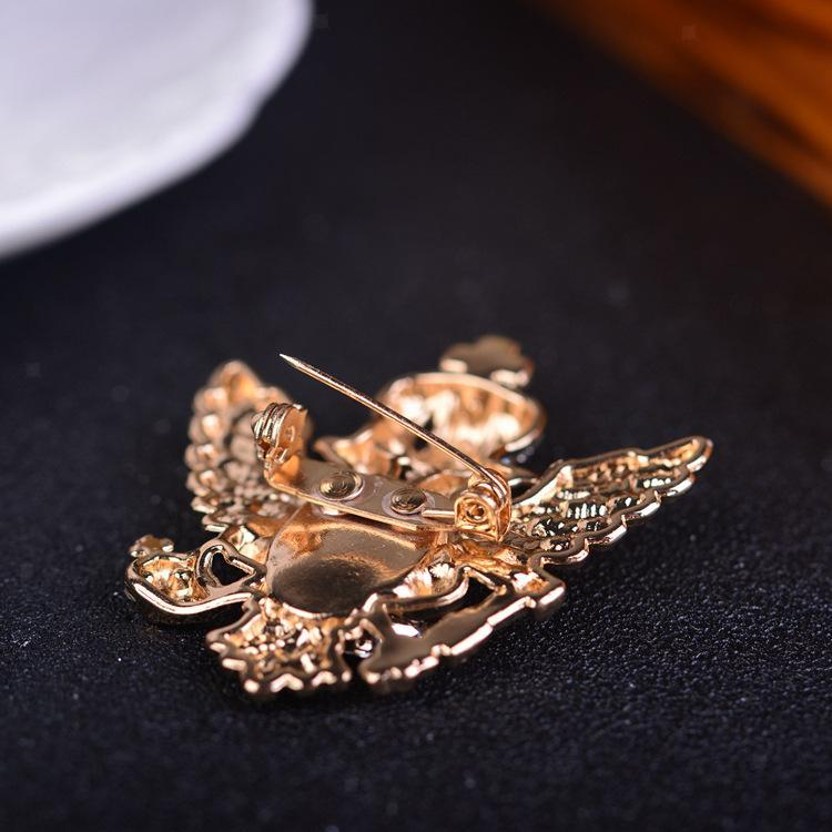 Unisex-Men-Vintage-Crystal-Crown-Eagle-Brooch-Pins-Suit-Breastpin-Collar-Pin thumbnail 8