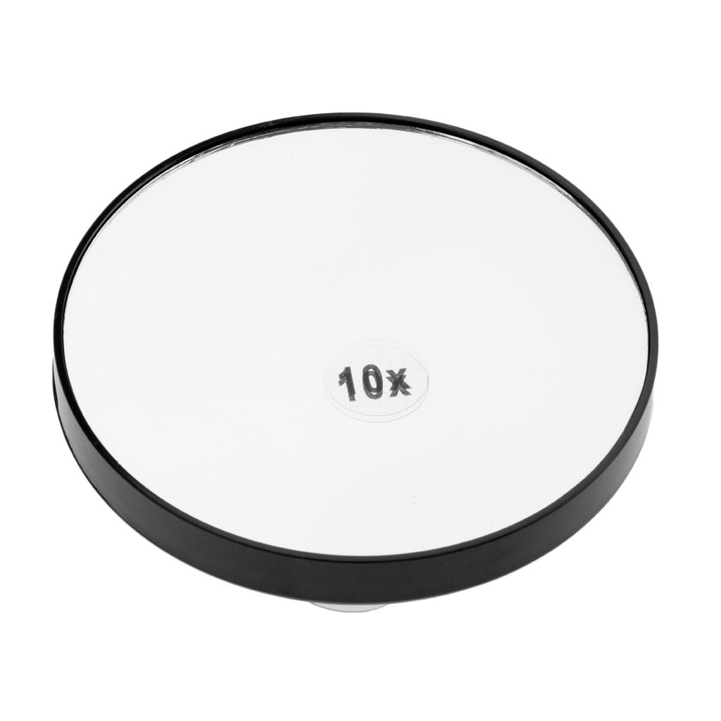 Miroir-Mural-Miroir-de-Maquillage-Grossissant-10x-Ventouse-d-039-Attache-pour miniature 3