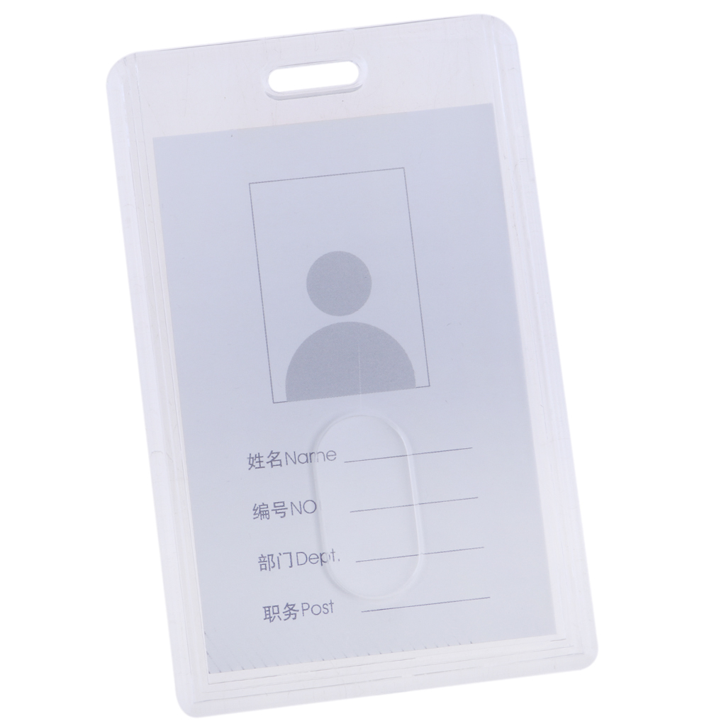 Lanyard-Neck-Strap-ID-Pass-Card-Badge-Holder-for-School-Students-Company thumbnail 6