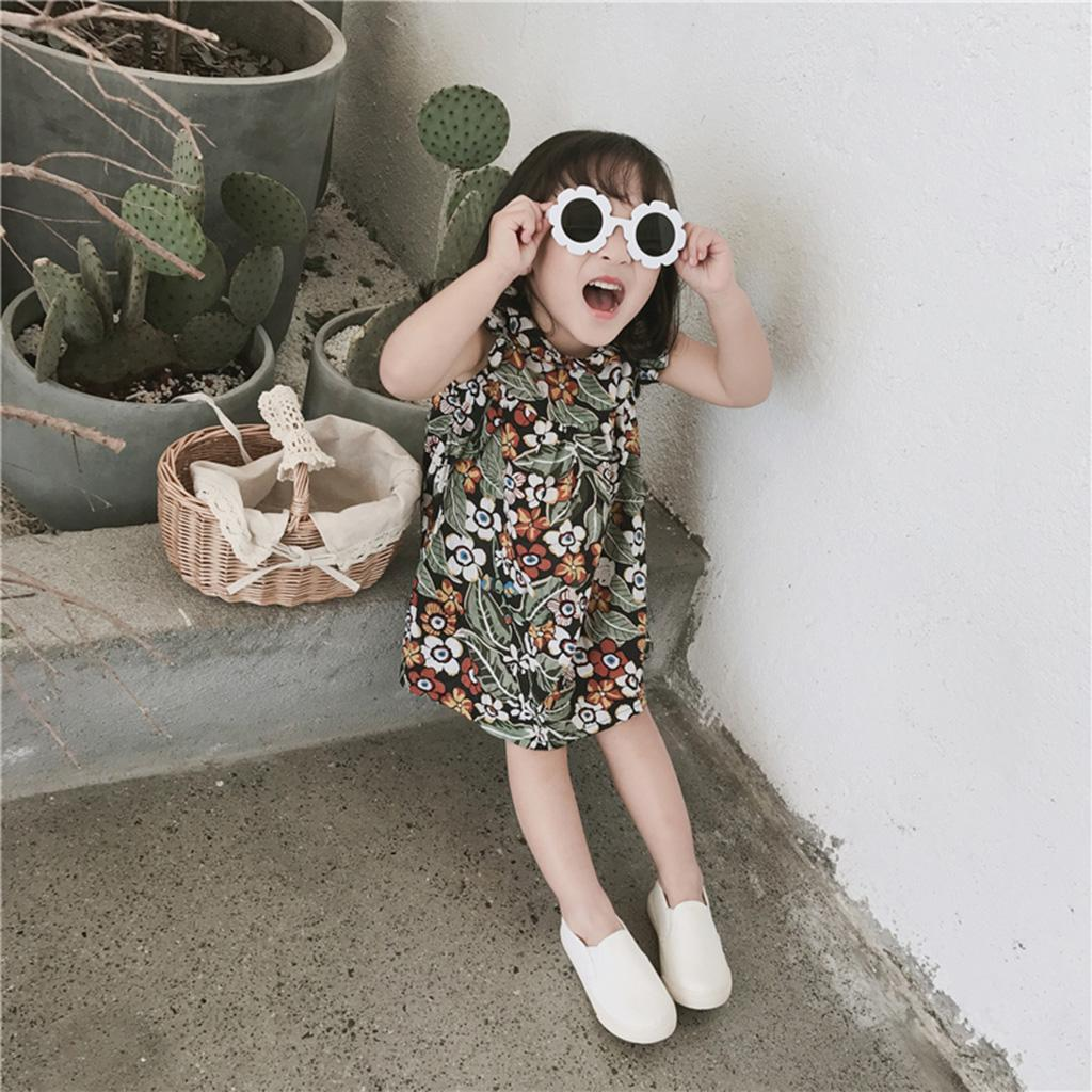 490dc88f05e3 Kids Girls Holiday Party Heart Round Shaped Love Sunglasses Shades ...