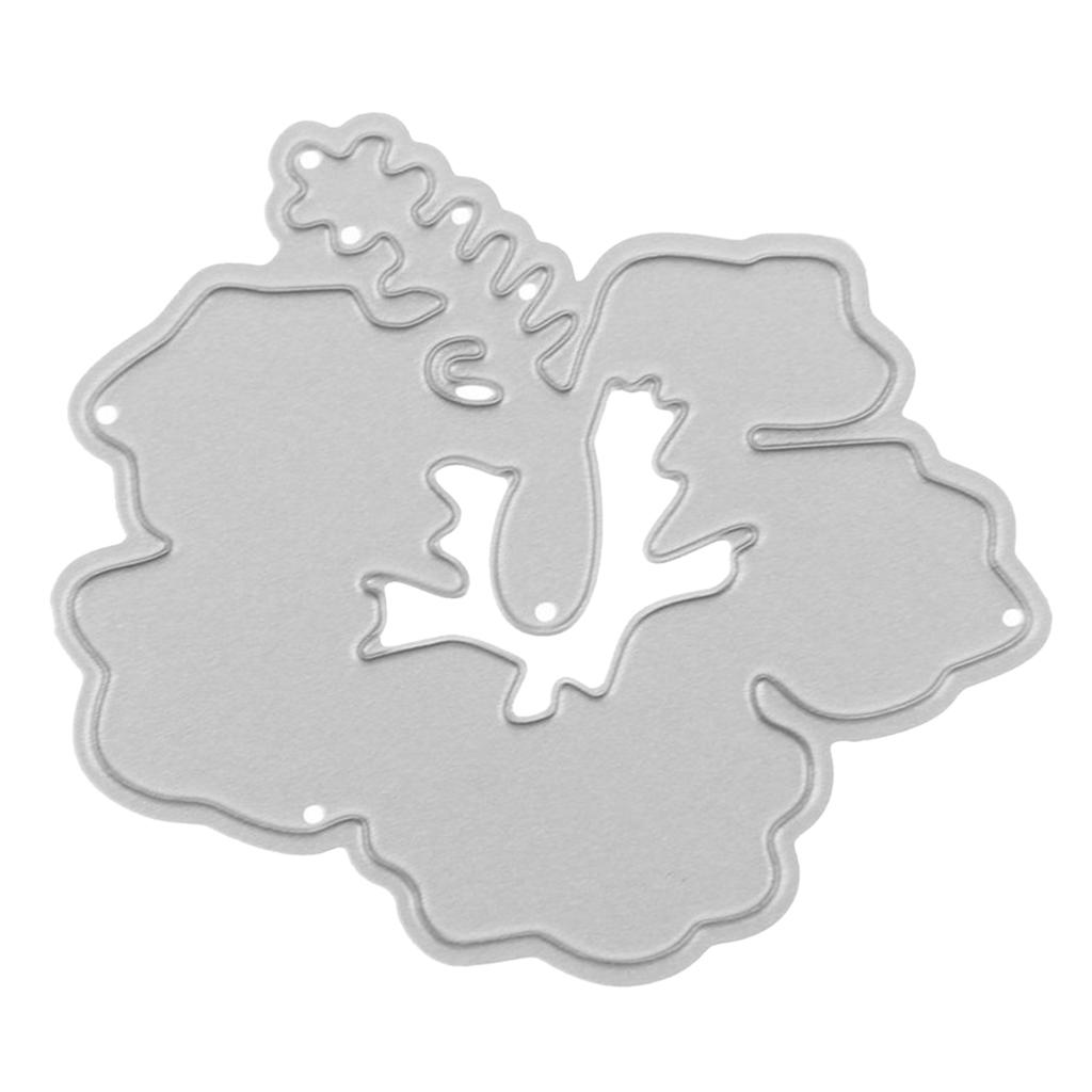 miniature 7 - Matrices de découpe de métal en acier au carbone Stencils Gabarit de moule