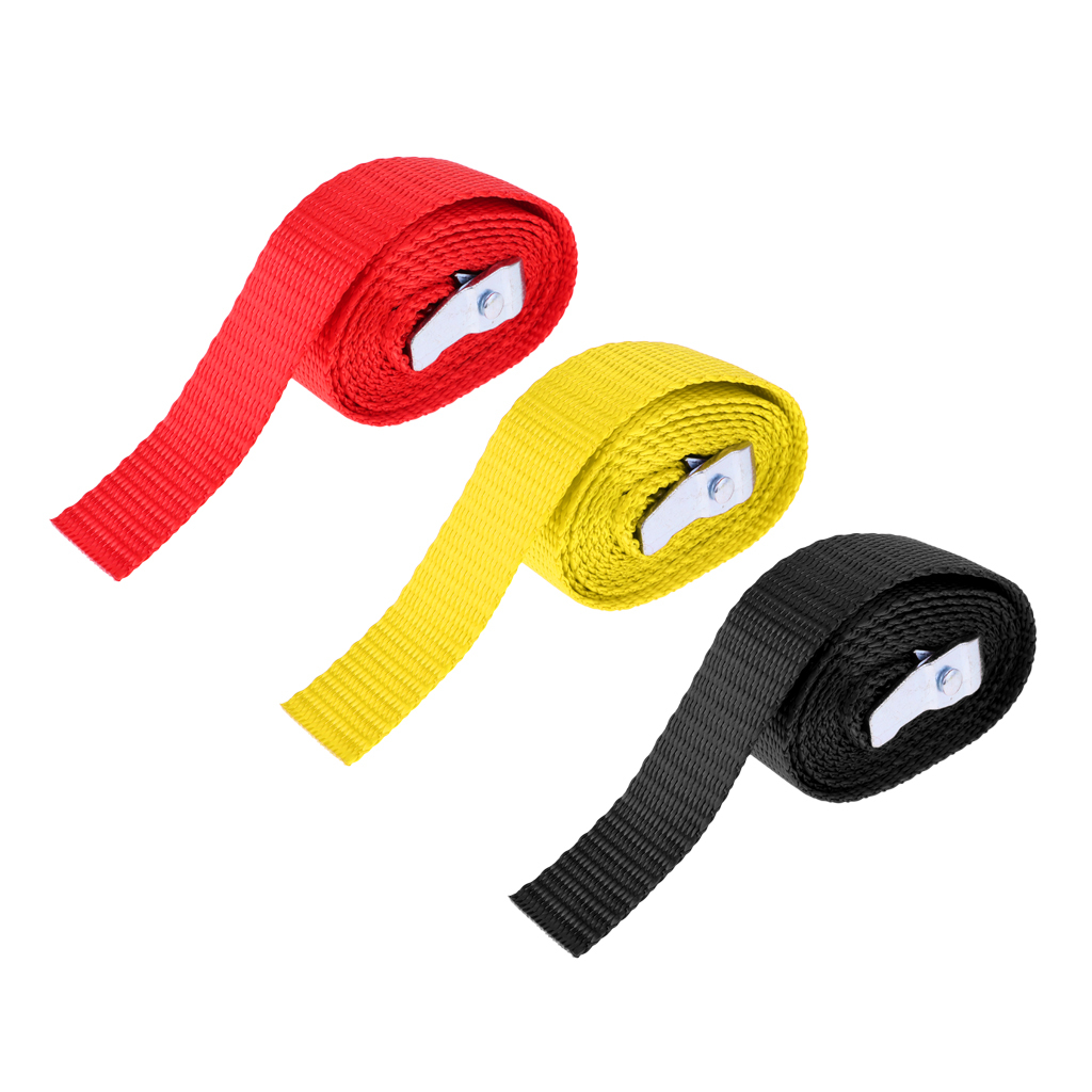 portapacchi-rimorchio-kayak-canoa-cravatta-cinghia-fibbia-in-metallo miniatura 8