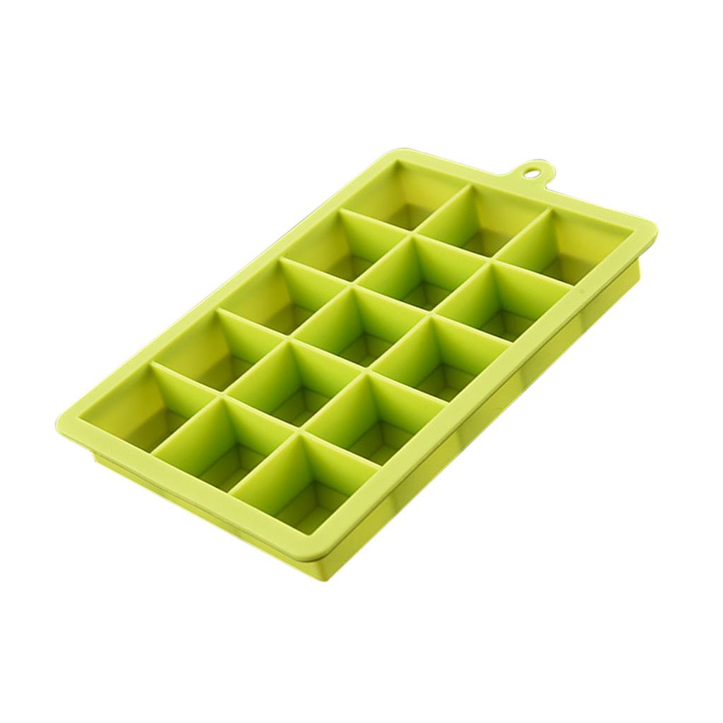 4-Couleurs-Silicone-Ice-Cube-Tray-Mold-Bar-Ice-Cube-Chocolate-Mold-Moule-Plateau miniature 3